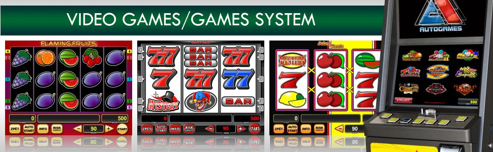Video Games - GAMES SYSTEM VLT