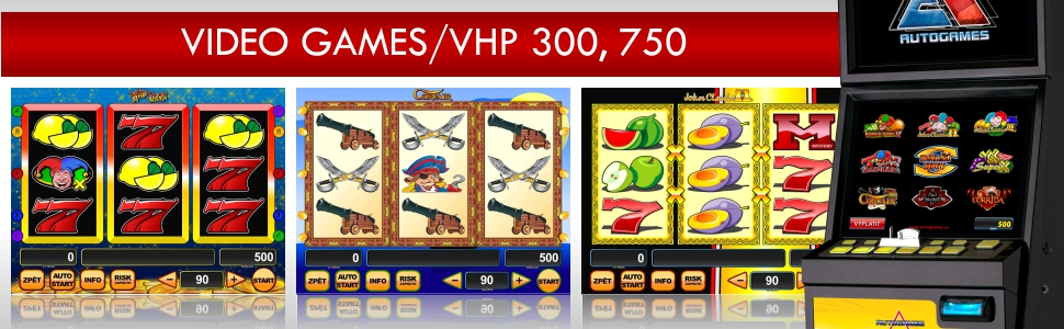 Video Games - VHP 300, 750